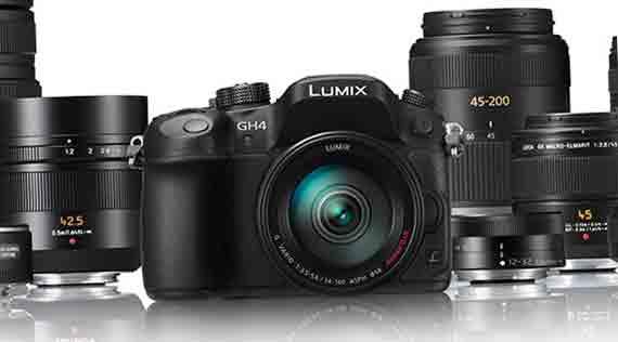 Фотокамера Panasonic GH4 4K и съемные объективы