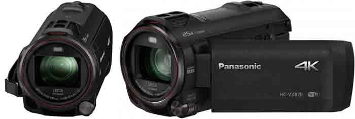 Видеокамера Panasonic HC-VX870. Дизайн