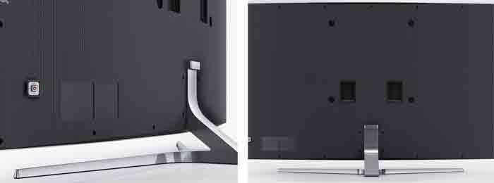 Samsung JS9000. Вид с зади