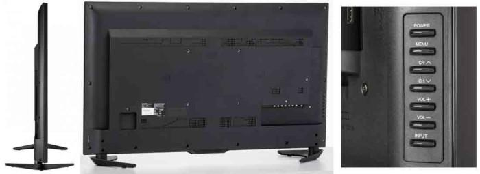 Телевизор Sharp LC50UB30U. Ракурсы и регулировки