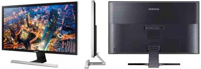 Samsung U24E590 4K IPS. Ракурсы