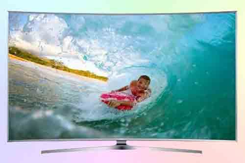 Samsung 4K SUHD UN65JS9500 Curved Smart TV