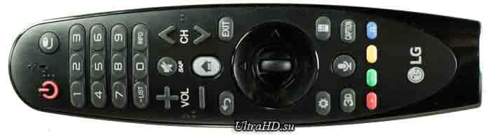 Телевизор LG 65UF7700. Пульт ДУ