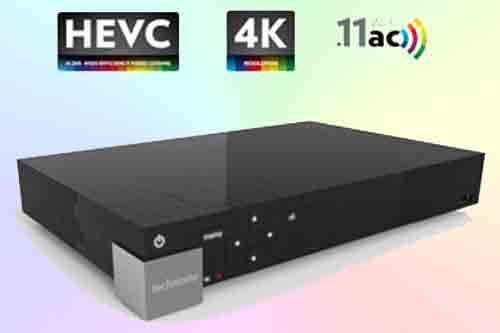 Спутниковый 4K ресивер MediaPlay DST839 set-top box