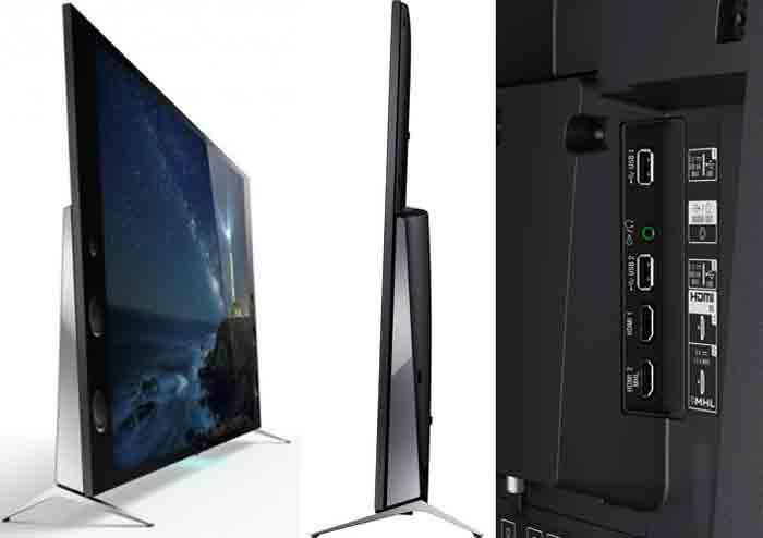 телевизора Sony XBR-65X930C. Ракурсы