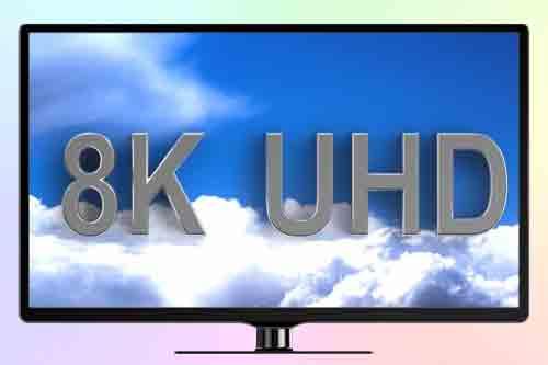 Первый в мире 8К телевизор  от Sharp