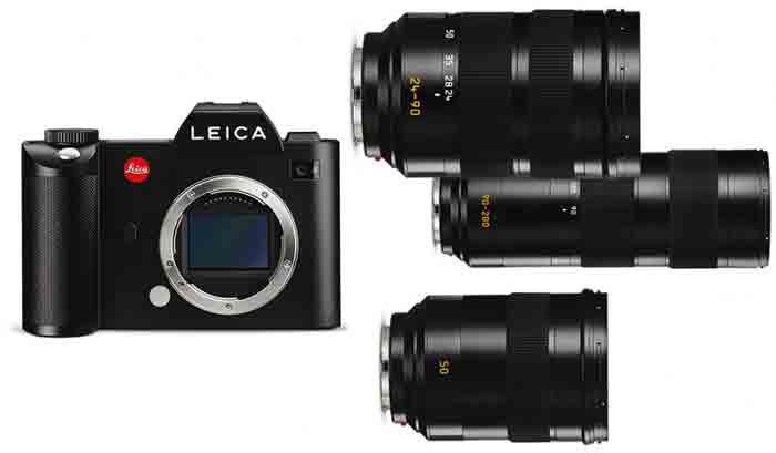 Фотокамера Leica SL typ 601. Комплект