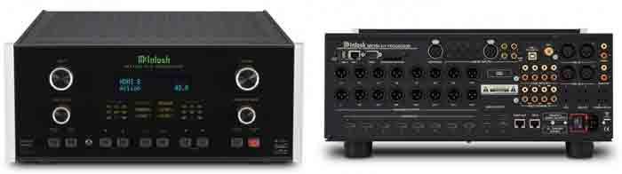AV Ресивер McIntosh MX160. Внешний вид и коммутация