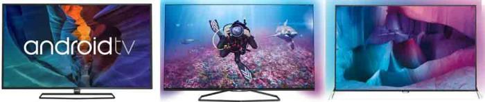 Телевизоры Philips 6400, 7100 и 7600