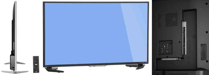 Телевизор Sharp LC 60UE30U. Ракурсы