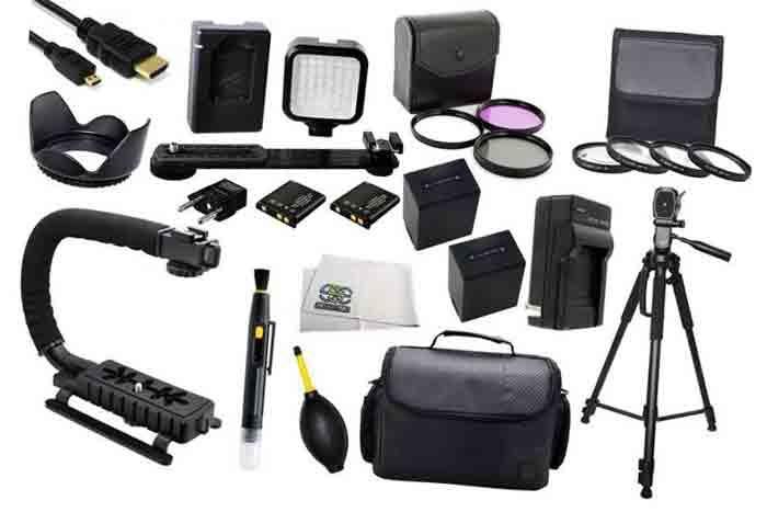 Sony FDR-AX100. Аксессуары