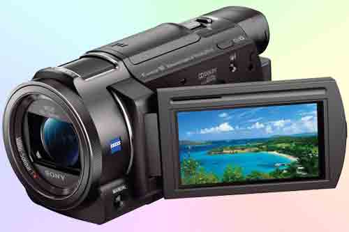 Видеокамера Sony FDR-AX33 - обзор