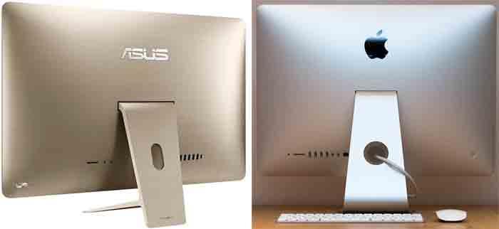 "Моноблок ASUS Zen AiO Pro в сравнении с Apple iMac 21"""