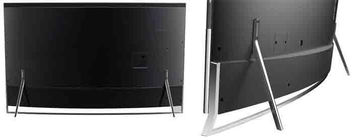 Телевизор Hisense 65XT910 с ULED.  Задняя панель