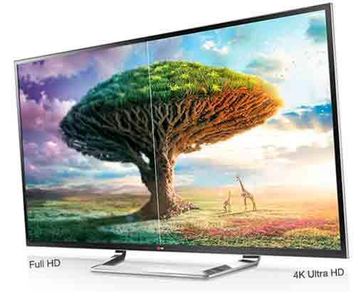 LG 49UF770V/ Сравнение с HD