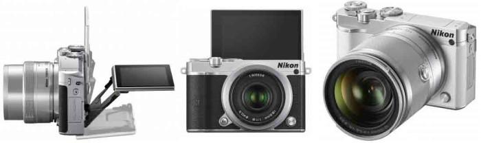 Фотокамера Nikon 1 J5 - автофокус и экран