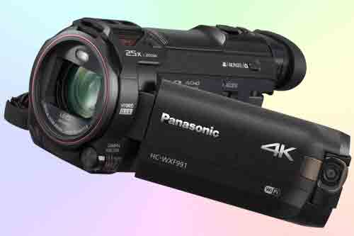 Обзор видеокамеры Panasonic HC-WXF991