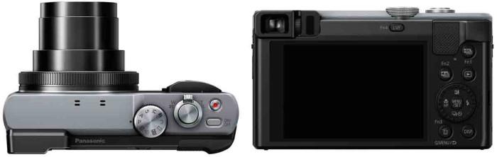 Panasonic TZ80 управление и экран