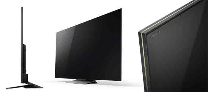 Телевизоры Sony XBR-X930D, X940D, X950D - ракурсы
