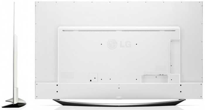 Телевизор LG 65UF950V белый корпус