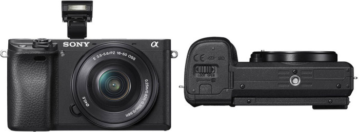 Фотокамера Sony A6300 фотовспышка