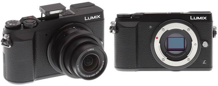 Фотоаппарат Panasonic GX80 объектив, затвор, вспышка