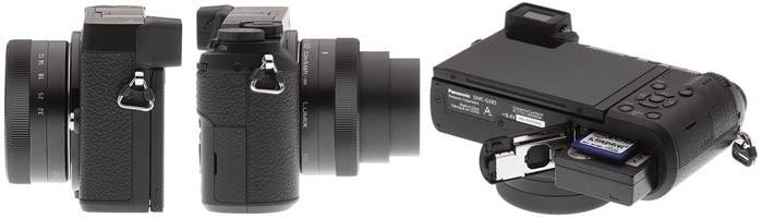 Фотоаппарат Panasonic GX80 память и питание
