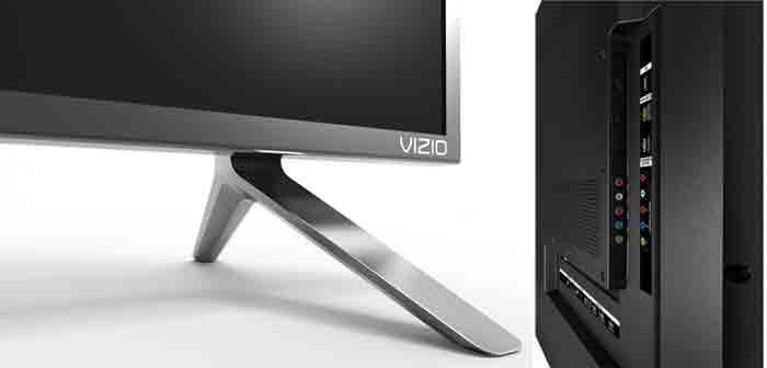 Телевизоры Vizio P50-C1, Vizio P55-C1, Vizio P65-C1, Vizio P75-C1 подставка и коммутация