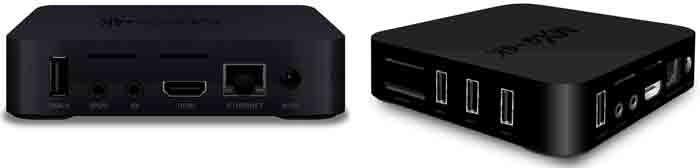 TV Box MXQ 4K коммутация