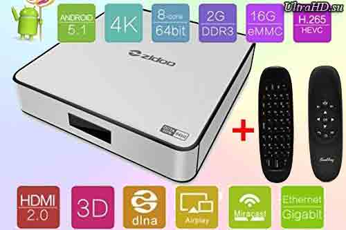 Приставка Zidoo X6 Pro