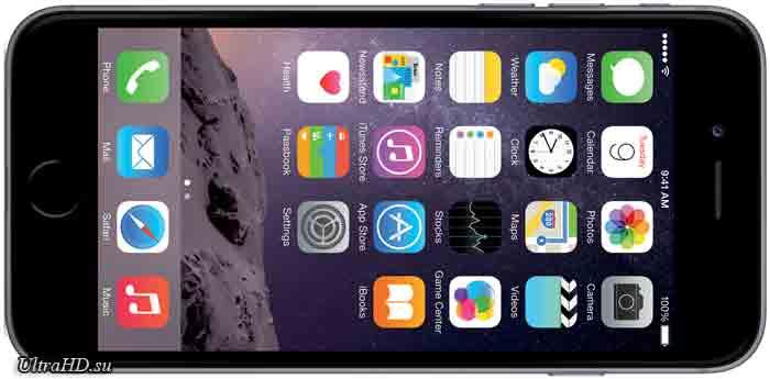 смартфон с разрешением 4K Apple iPhone 6S Plus