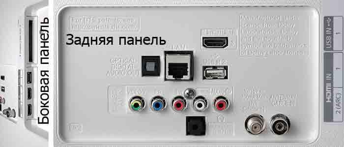 LG 55UH750V интерфейсы