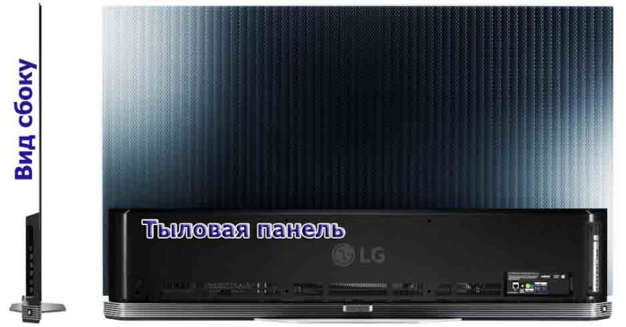 Обзор LG E6 Signature ракурс