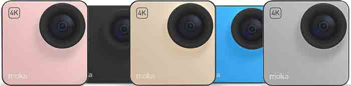 MokaCam - экшн-камера