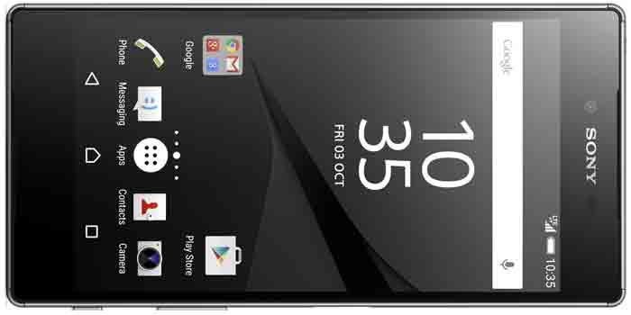 Sony Xperia Z5 Premium с 4K дисплеем