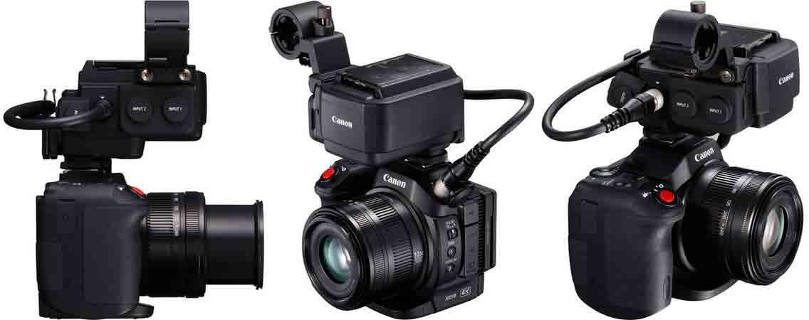 Canon XC15 адаптер звука