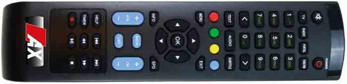 Opticum AX HD51 4K Box пульт ДУ