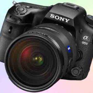 Sony A99 II с тыловой подсветкой