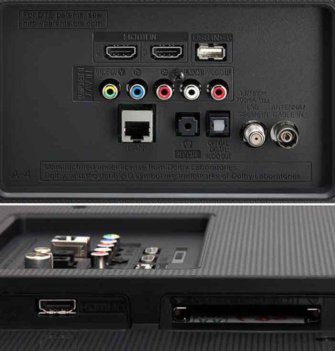 UH603V и UH605V интерфейсы