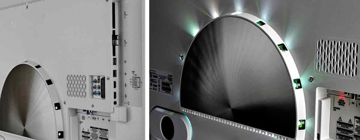 Philips 65PUS8901 интерфейсы