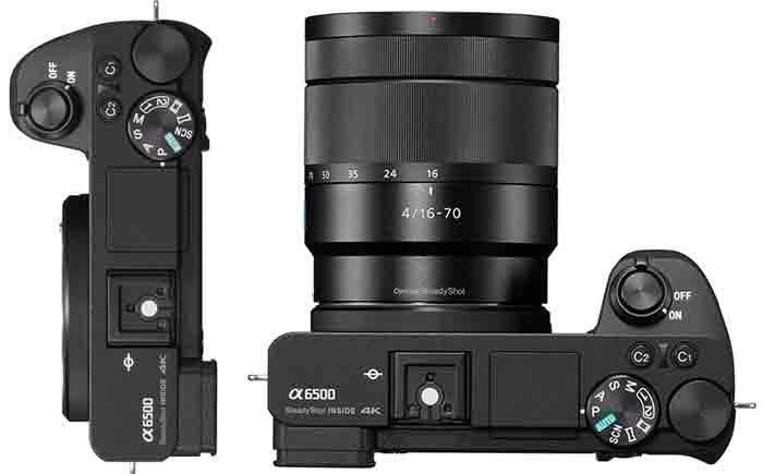 Sony A6500 объектив