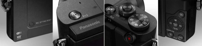 Panasonic GX800 режимы управления