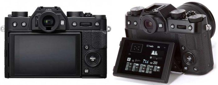 Fujifilm X-T20 сенсорный дисплей