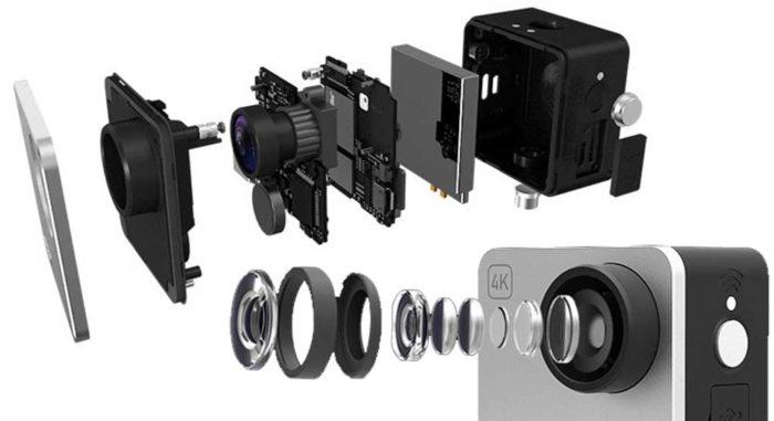 Mokacam Alpha S объектив и экран