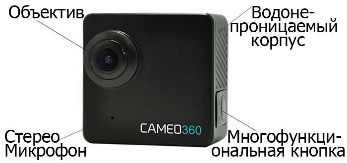 CAMEO360 4K камера