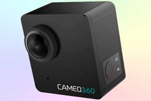 CAMEO360 – миниатюрная панорамная (360°) 4K камера