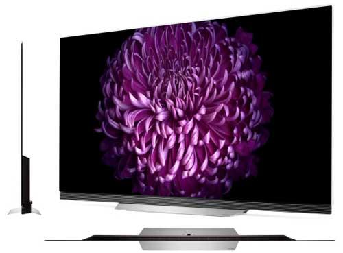 Телевизор LG OLED55E7V дизайн