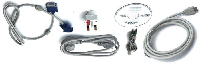 Philips BDM4037UW комплектность