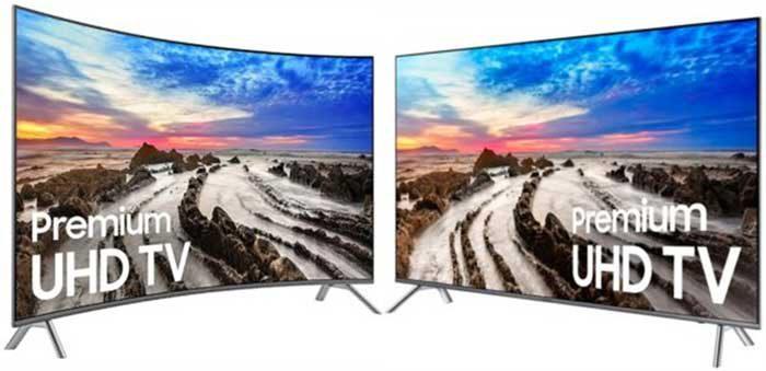 Samsung MU8000 и MU8500 отличия