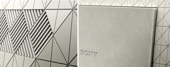 Sony XE90 задняя панель